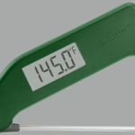 The Thermapen tells you any temp in 2 seconds!